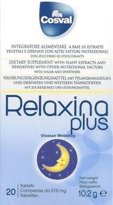 Relax Relaxina Plus 20 tabletten 10.2g Cosval