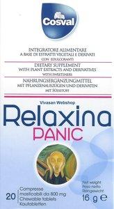 Relaxina Panic 20 tabletten 16g Cosval