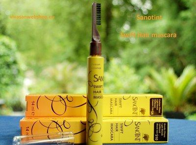 Sanotint Haarmascara Swift lichtbruin S4
