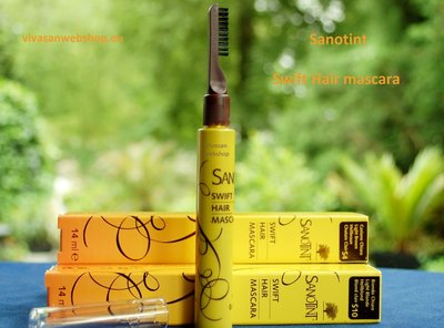 Sanotint Haarmascara Swift donkerbruin S6
