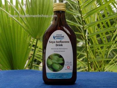 Vivasan Soya Isoflavone Drink is een zuiver natuurlijke drank van Vivasan met soja isoflavonen, magnesium, calcium, sinaasappel