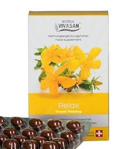 Relax met Sint-Janskruid en vitaminen Vivasan Webshop