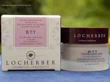 Locherber B.T.Y. biotechnologische, huidversterkende gezichtscrème vermindert expressierimpels