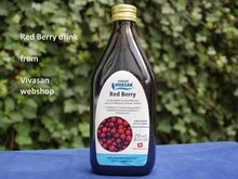 Vivasan Red Redberry-  of Cranberrydrank (veenbes)
