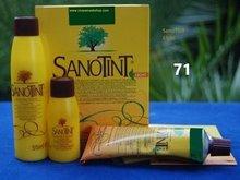 Sanotint Sensitive haarverf zonder PPD, Zwart 71
